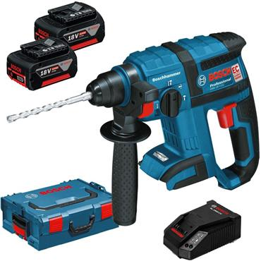Bosch GBH18V-EC Professional Brushless 18 V SDS Hammer 2 x 5.0 Ah ,charger in a L-BOXX