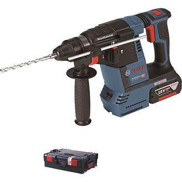 Bosch GBH 18 V-26 F Professional  18 V SDS Hammer 2 x 6.0 Ah , charger in a L-BOXX