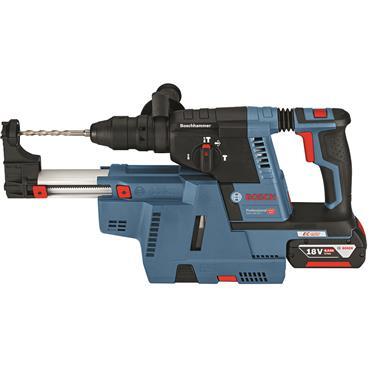 Bosch GBH18V-26F Professional  18 V SDS Hammer W/ 2x 6Ah Li-Ion batteries + Auxiliary Handle