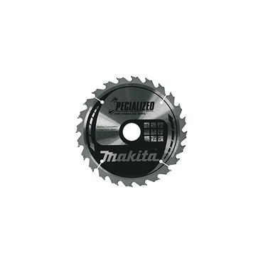 Makita B-09173 Circular Saw Blade 165 x 20mm x 24T Cordless Wood B-09173