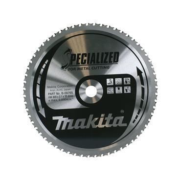 Makita B-09765 Specialized TCT Metal Circular Saw Blade 305mm x 25.4mm x 60T