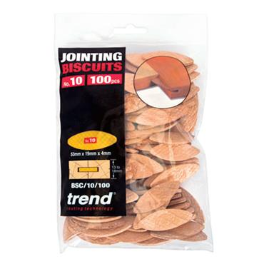 Trend No 10 Size Compressed Beech Biscuits - 100 pack - BSC/10/100
