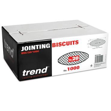 Trend Biscuit No 20 1000 off  - BSC/20/1000