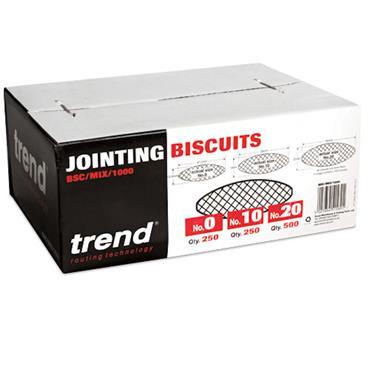 Trend Biscuit mixed box 0 10&20 1000pcs  - BSC/MIX/1000