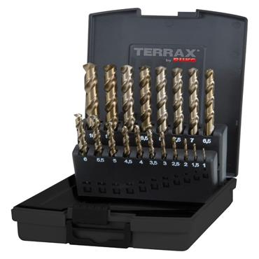 Ruko TERRAX Drill Cilindricas HSS-E CO 5% 19P