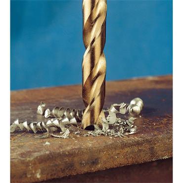 Terrax by Ruko A215214 Cobalt Steel Drill Bit Set 1-10mm 19 pieces in Metal Case