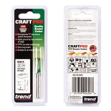 Trend Two Flute Cutter 7.9mm diameter - C011X1/4TC