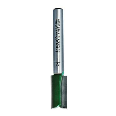 Trend Two Flute Cutter 9.5mm diameter - C013X1/4TC