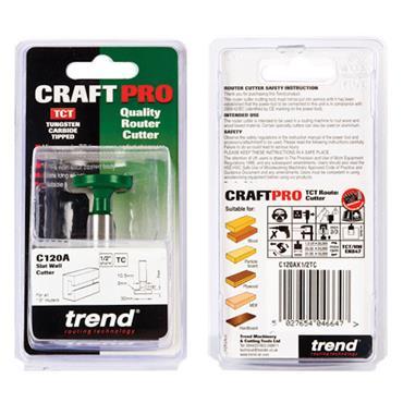 Trend Slat wall cutter - C120AX1/2TC