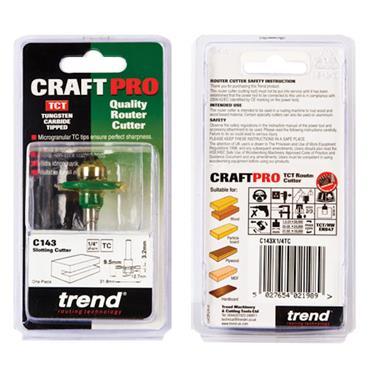 Trend Slotting 3.2mm cut  - C143X1/4TC