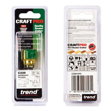 Trend Intumescent cutter 15mm x 24mm  - C220X1/4TC