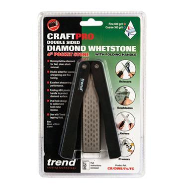 Trend CraftPro Folding stone F/C 4 inch - CR/DWS/F4/FC