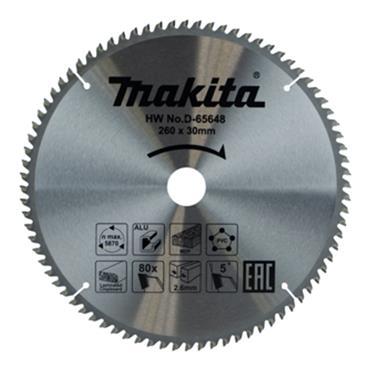 Makita Multi Purpose Tct Saw Blade 260mm x 80t x30mm