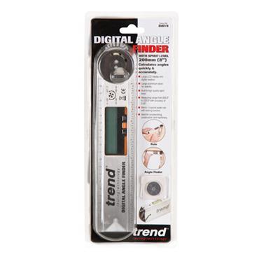 Trend Digital Angle Finder-measuring, marking & transfering bevels, mitres & slopes - DAF/8