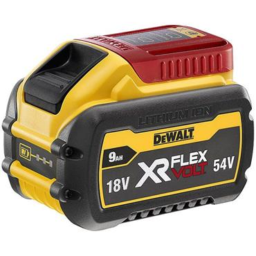 DeWalt DCB547XR, Flexvolt Convertible 18v/54v Lithium-ion 9Ah Battery Pack,