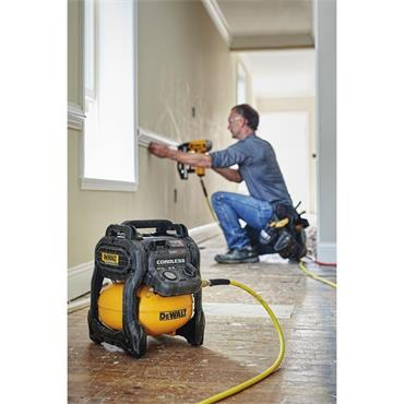 DeWalt DCC1054T2, 54v Flexvolt Brushless 10L Air Compressor, 2x 6Ah Batteries, Fast Charger