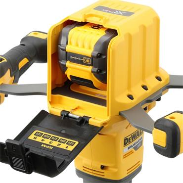 DeWalt DCD240X2 54 Volt XR Flexvolt Brushless Paddle Mixer, 2x 9.Ah Batteries
