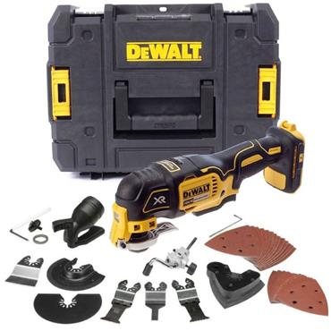 DeWalt DCS355N-XJ 18v Brushless Multitool (Body Only) with Accessories