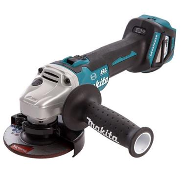 Makita DGA463Z 18v LXT Brushless Paddle Switch 115mm Angle Grinder (Body Only)