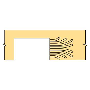 Trend DG/PRO Inner Plate Curved Fan  - DGP/IP/CF