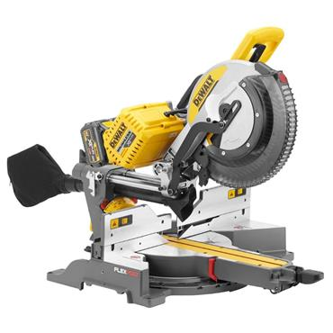 DeWalt  DHS780T2-GB 305mm, 2x 54v FLEXVOLT Mitre Saw 2x6Ah Batteries, 2 Port Charger, Saw Blade