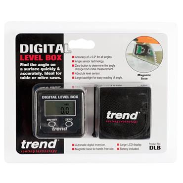 Trend Digital Level Box - Magnetic Angle Finder  - DLB