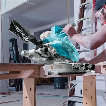 Makita DLS110Z 18v Twin LXT BL 260mm Slide Compound Mitre Saw (Body Only)