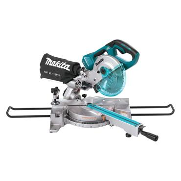 Makita DLS714NZ Twin 18v Cordless 190mm Sliding Compound Mitre Saw (Body Only)
