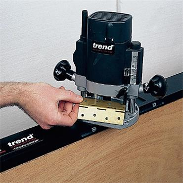 Trend Hinge Jig A-Two piece jig, accurate repeatable fitting of hinges to doors and frames - H/JIG/A