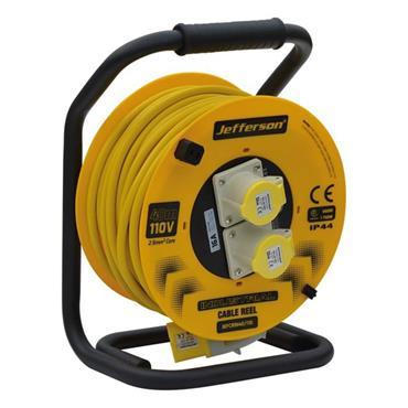 JEFFERSON JEFCRIN40/110 40m 110V Industrial Cable Reel