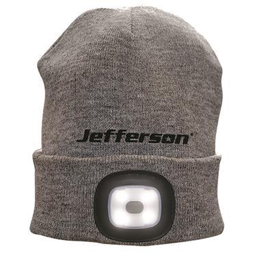 Jefferson 160 Lumens LED USB Rechargeable Beanie Hat