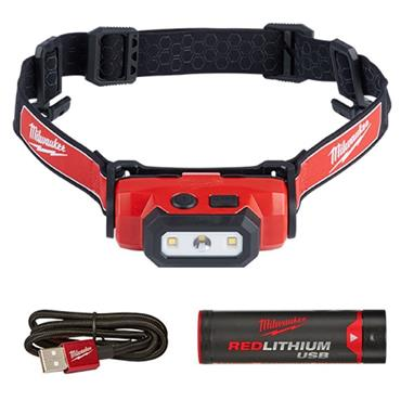 Milwaukee Rechargable LED Head Torch