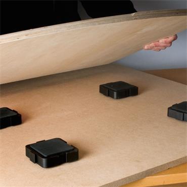 Trend Loc block workpiece support 4 pack  - LOC/BLK/PK1