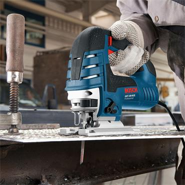 Bosch GST150BCE 780W Bow Handle Jigsaw, Accessories and Kit Box