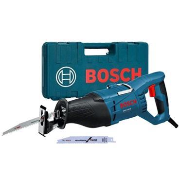 Bosch GSA1100 Reciprocating Saw, Blades x 2, Kit-Box