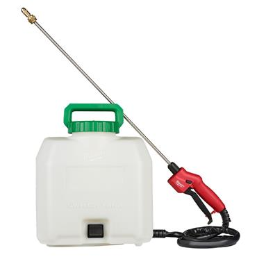 Milwaukee M18BPFPH-0 15lt Backpack Fluid Pump Sprayer (Body Only) With Listed Accessories.