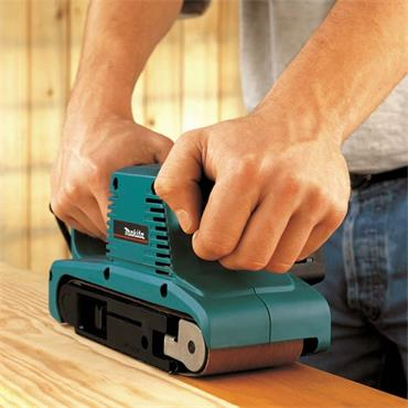 Makita 9911 Belt Sander 650W, Using 76mm x 457mm Belts
