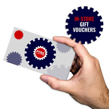 PTRS In-Store Gift Voucher