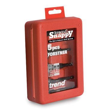 Trend Snappy 5 piece forstner set 15-35mm  - SNAP/FS1/SET