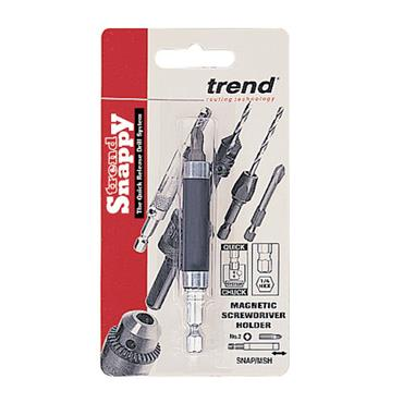 Trend Snappy magnetic drive holder and Pozi - SNAP/MSH