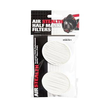 Trend Air Stealth respirator mask replacement filters - Set of P3 filters. - STEALTH/1
