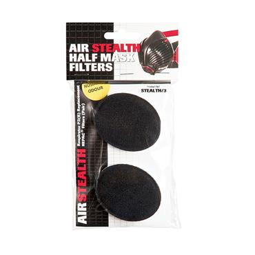 Trend Air Stealth respiratory mask replacement set of charcoal filters. - STEALTH/3
