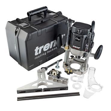 Trend T11EK 230v Heavy Duty Variable Speed Router, 2000w, Kit-Box