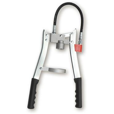 Double Lever Grease Gun, 300mm flexible nozzle 011681051