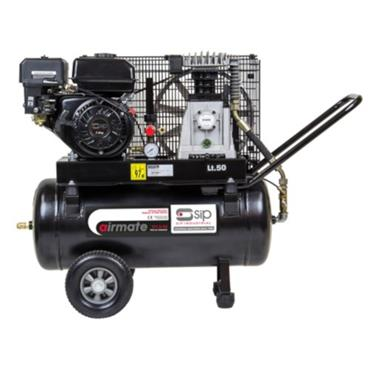 SIP TP7.0/50 Belt Driven Petrol-Powered Air Compressor