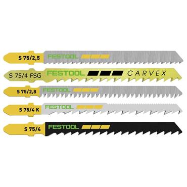 Jigsaw blade set STS-Sort/25 W  204275