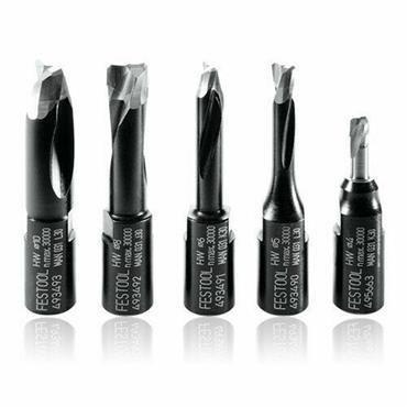Domino DF 500 Cutters 5-piece Assortment 4/5/6/8/10mm - BNIB 495665