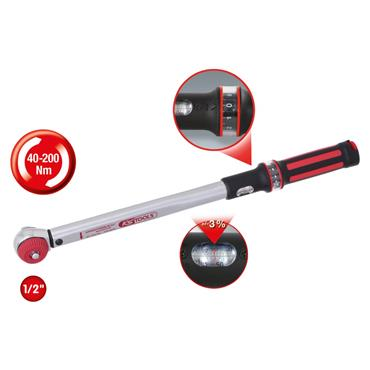 """1/2"""" ERGOTORQUE®precision torque wrench 40-200 Nm 516.6042"""