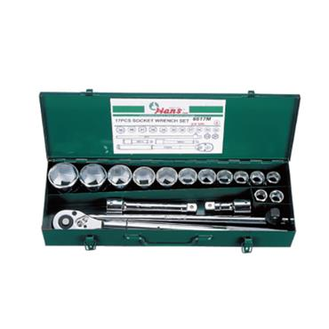 "3/4"" DRIVE 17 PIECE 6 POINT SOCKET SET 6617M"