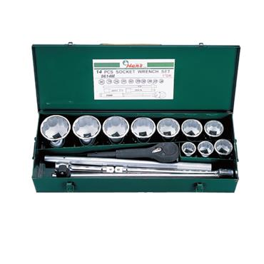 "1"" DRIVE 14 PIECE SOCKET SET 8614M"